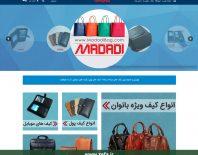 وبسایت فروشگاه اینترنتی + کیف مددی + فناوری اطلاعات زیفا