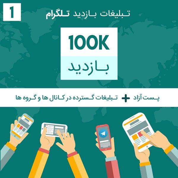 1 min 13 600x600 - 100 هزار بازدید تلگرام