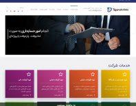 طراحی وبسایت شرکت تجارت کلینیک