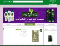 طراحی فروشگاه اینترنتی اقیانوس سبز