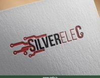 طراحی لوگوی سیلور الکترونیک