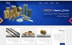 طراحی وبسایت شرکتی تیرکس تولز