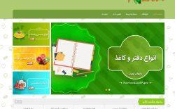 طراحی فروشگاه اینترنتی رضوان نوین